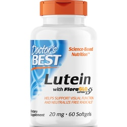 Doctor's BestBest Free Lutein featuring FloraGLO Lutein with Zeaxanthin