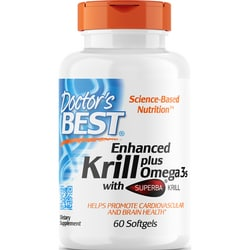 Doctor's BestEnhanced Krill plus Omega 3s with Superba Krill
