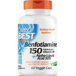 Doctor's Best Best Benfotiamine 150 + Alpha-Lipoic Acid 300