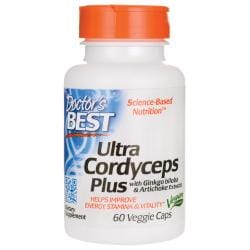 Doctor's BestUltra Cordyceps Plus with Ginkgo biloba & Artichoke Extracts