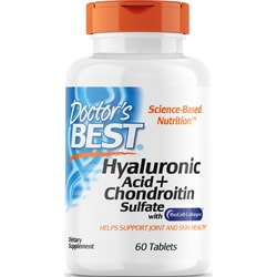 Doctor's BestBest Hyaluronic Acid with Chondroitin Sulfate