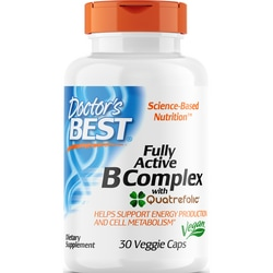 Doctor's BestFully Active B Complex with Quatrefolic