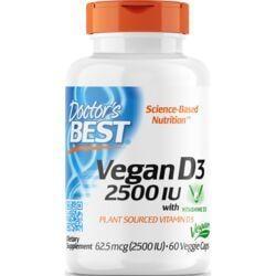 Doctor's BestVegan D3 with Vitashine D3