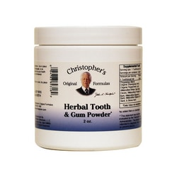 Dr. Christopher's Herbal Tooth & Gum Powder