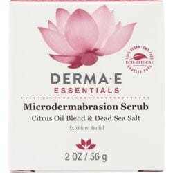 Derma EMicrodermabrasion Scrub w/ Citrus Oil Blend & Dead Sea Salt