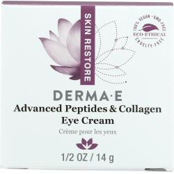derma e Deep Wrinkle Peptide Eye Creme Moisturizer 0.5 oz Dermalogica Daily Microfoliant 2.6 oz.