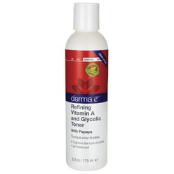 Derma ERefining Vitamin A and Glycolic Toner with Papaya