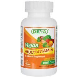 DevaVegan Multivitamin & Mineral One Daily