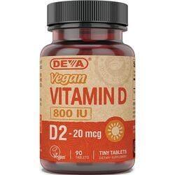 DevaVegan Vitamin D2