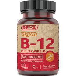 DevaVegan B12 with Folic Acid & B6 - Fast Dissolve