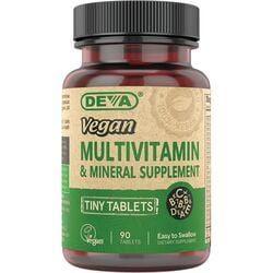 DevaVegan Multivitamin & Mineral Supplement