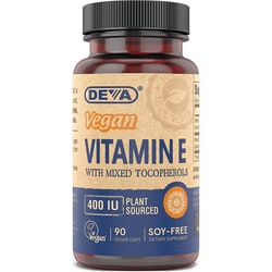 Deva Vegan Vitamin E with Mixed Tocopherols