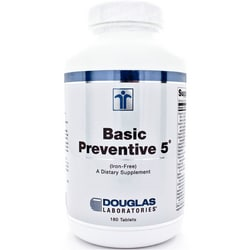Douglas LaboratoriesBasic Preventive 5 - Iron Free
