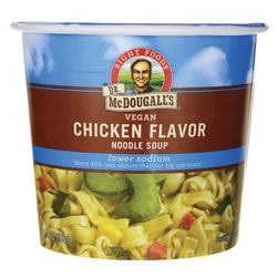 Dr. McDougall's Vegan Chicken Flavor Noodle Soup Lower Sodium