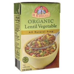 Dr. McDougall'sOrganic Lentil Vegetable All Natural Soup