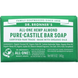Dr. Bronner's Pure Castile Bar Soap Almond