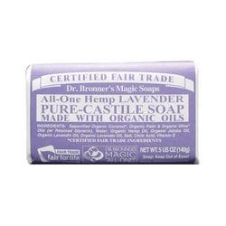 Dr. Bronner's Pure Castile Bar Soap Lavender