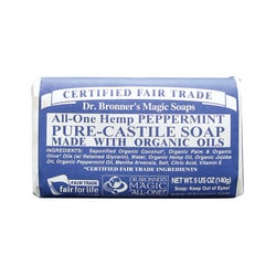 Dr. Bronner'sPure Castile Bar Soap Peppermint