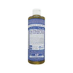 Dr. Bronner's Pure Castile Liquid Soap Peppermint