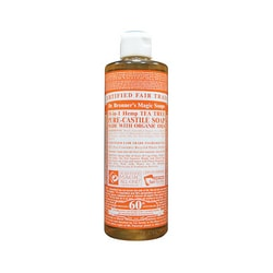 Dr. Bronner's Pure Castile Liquid Soap Tea Tree