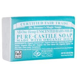 Dr. Bronner'sPure-Castile Soap - All-One Hemp Unscented Baby-Mild