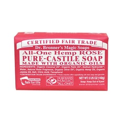 Dr. Bronner'sOrganic Castile Bar Soap Rose