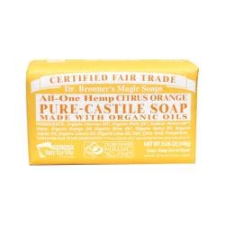 Dr. Bronner'sOrganic Castile Bar Soap Citrus Orange