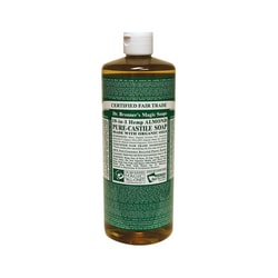 Dr. Bronner's Organic Castile Liquid Soap Almond