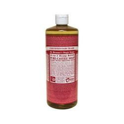 Dr. Bronner's Organic Castile Liquid Soap Rose