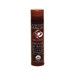 Dr. Bronner's Magic Organic Lip Balm Orange Ginger