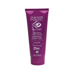Dr. Bronner's Magic Organic Shaving Soap Gel Lavender