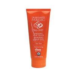 Dr. Bronner'sMagic Organic Shaving Soap Gel Tea Tree