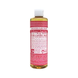 Dr. Bronner'sPure Castile Liquid Soap Rose
