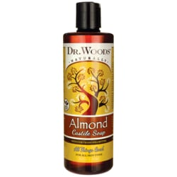 Dr. WoodsPure Almond Castile Soap with Organic Shea Butter