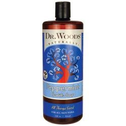 Dr. WoodsPeppermint Castile Soap