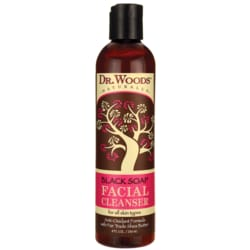 Dr. WoodsBlack Soap Facial Cleanser with Fair Trade Shea Butter