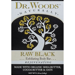 Dr. Woods Raw Black Shea Butter Soap