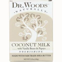 Dr. WoodsCoconut Milk Raw Shea Butter Soap