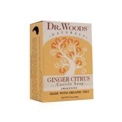 Dr. WoodsGinger Citrus Castile Soap