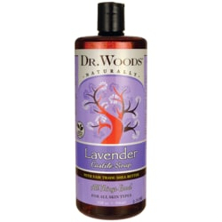Dr. Woods Lavender Castile Soap with Organic Shea Butter