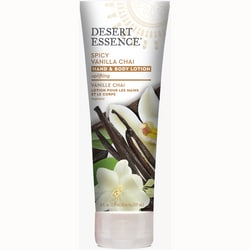 Desert Essence Spicy Vanilla Chai Hand and Body Lotion