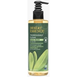 Desert Essence Thoroughly Clean Face Wash - Original