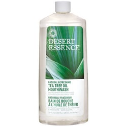 Desert Essence Tea Tree Oil Mouthwash with Spearmint