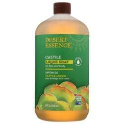 Desert EssenceCastile Liquid Soap with Tea Tree Oil