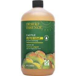 Desert Essence Castile Liquid Soap with Tea Tree Oil