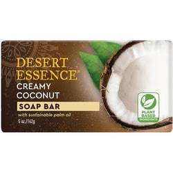 Desert Essence Soap Bar - Creamy Coconut