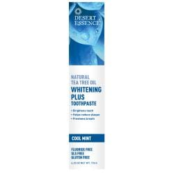 Desert EssenceTea Tree Oil Whitening Plus Toothpaste - Cool Mint