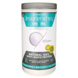 Designer WheyNatural 100% Whey-Based Protein - Purely Unflavored