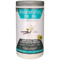 Designer WheyNatural 100% Whey-Based Protein - French Vanilla