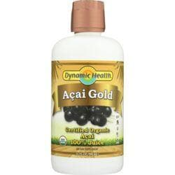 Dynamic HealthOrganic Certified Acai Gold